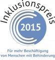 Logo des Inklusionspreises f�r die Besch�ftigung von Menschen mit Behinderung