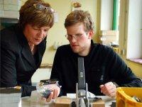 Ulla Schmidt zu Besuch bei der WfbM der Saale Betreuungswerk der Lebenshilfe Jena gGmbH