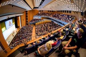 Plenumsveranstaltung in der Stadthalle Chemnitz