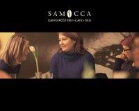 Hintergrundbild Samocca mit zwei Menschen