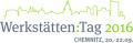 Logo Werkst�tten:Tag 2016 Chemnitz