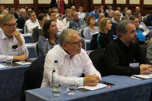 Plenum beim Mitglieder:Dialog in Frankfurt.