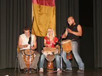 Eine Gruppe aus Polen