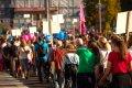 Demonstrierende Menschen, Protestmarsch