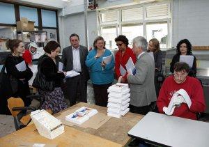 Foto zeigt EU-Abgeordnete in Kehl-Kork