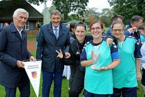 Frauenspielgemeinschaft Schleswig-Holstein mit Eugen Gehlenborg und Martin Berg