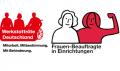 Logo Werkstatträte Deutschland. Logo Starke.Frauen.Machen.
