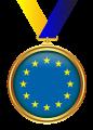 Medaille mit Sternenkreis