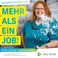 """Kampagnenmotiv """"Mehr als ein Job"""" mit Sabrina, Mitarbeiterin im Bereich Aktenvernichtung"""