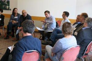 Arbeitsgruppe beim Mitglieder:Dialog.