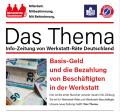 Das Thema - Infozeitung von Werkstatträte Deutschland